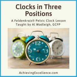 Pelvic Clock in Three Positions