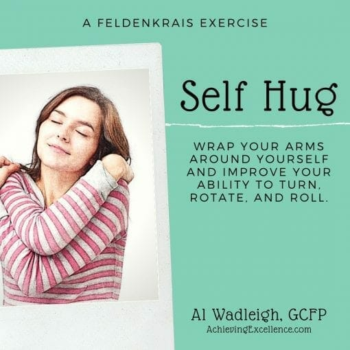 A Feldenkrais Exercise to Improve turning and rotation.