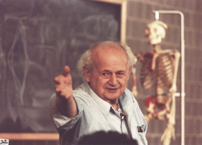 Moshe Feldenkrais at Amherst 3