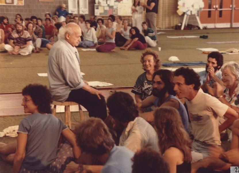 Moshe Feldenkrais at Amherst 4