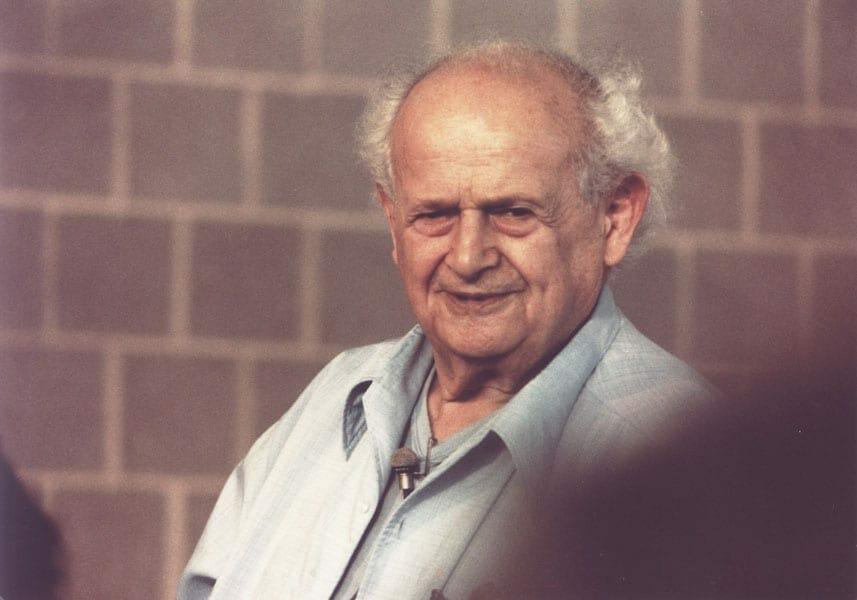 Moshe Feldenkrais at Amherst 6