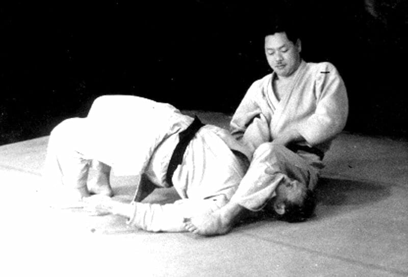 Moshe practicing Judo