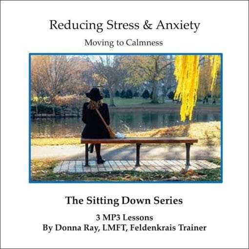 Sitting Feldenkrais Lessons for Reducing Stress and Anxiety
