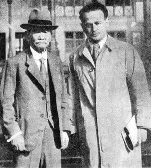 Jigoro Kano and Moshe Feldenkrais co-founded the Jiu-Jitsu Club of Frannce